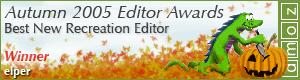2005 - Best New Recreation Editor Winner