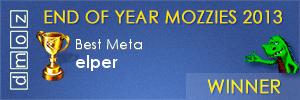 2013 - Best Meta Editor - Winner