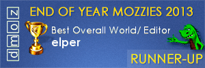 2013 Best Overall World Editor Runner-Up