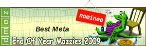 2009 - Best Meta Editor Nominee