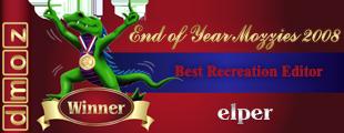 2008 - Best Recreation Editor - Winner