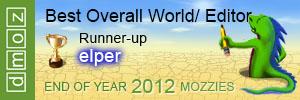 2012  - Best Overall World Editor - Runner-Up